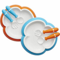 BabyBjorn Baby Plate, Spoon and Fork, 2pk