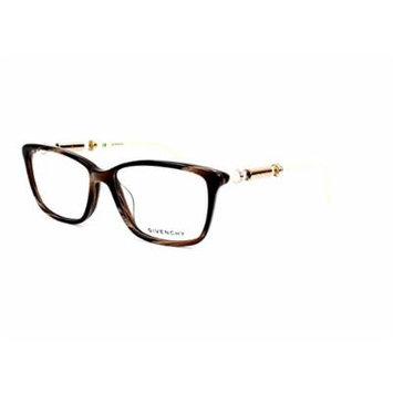 Optical frame Givenchy Acetate Marble Brown - Beige (VGV804T 9AJN)