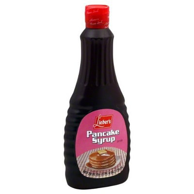 Liebers Syrup, Pancake, Regular, Passover, 24-Ounce (Pack of 4)