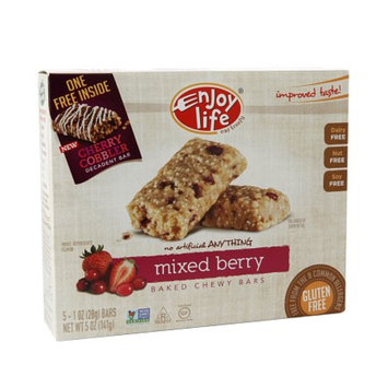 Enjoy Life Oven-Baked Chewy Bars Very Berry