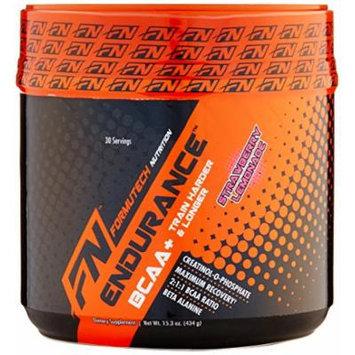 Formutech Nutrition Endurance BCAA Workout Powder, Strawberry Lemonade, 30 Count