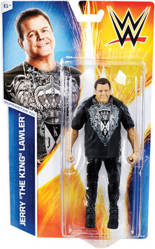 Mfg Id For Dot.com Items Jerry Lawler - WWE Series 46 Toy Wrestling Action Figure
