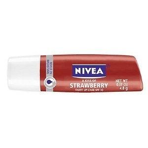 Nivea lip care strawberry review