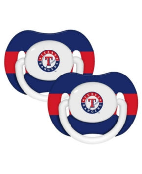 Baby Fanatic Texas Rangers Baby Pacifier - 2 Pack Multi