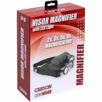 LumiVisor LED Magnifying Head-Visor, Black