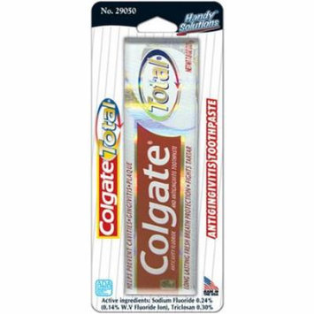 Handy Solutions Colgate Total Toothpaste, .75-Ounce Packages