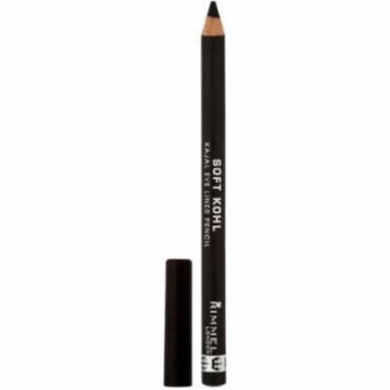Rimmel Soft Kohl Kajal Eye Pencil, Jet Black 0.04 oz