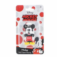 Mickey Mouse Soft Touch Nail Clipper Key Ring
