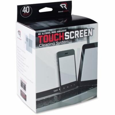 Read/Right Touch Screen Cleaner,40 Pre-moistened/40 Lint-free Wipes