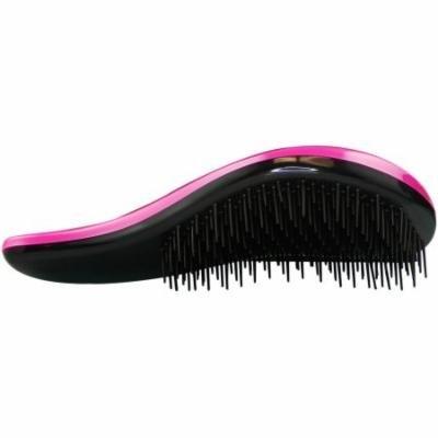 HerStyler De-Tangle Hair Brush, Crazy Pink