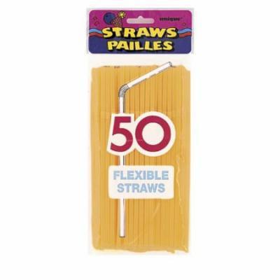 Designer Flex Straws Neon Asst