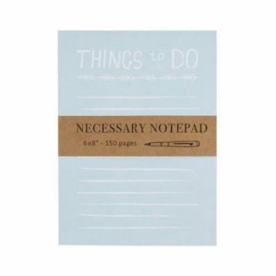 Eccolo Necessary Notepad Things To Do 6X8