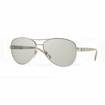 BURBERRY Sunglasses BE 3080 10056V Silver 59MM