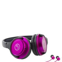 Able Planet Travelers' Choice Stereo Headphones - Pink