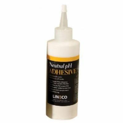 Lineco White Neutral pH Adhesive, 8 oz. Dispenser Bottle