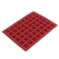 Letter Numerals Silicone Chocolate Jelly Candy Cube Mould Ice Tray Mold Red