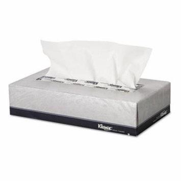 Kimberly Clark 21005 KLEENEX White Facial Tissue, 2-Ply, 100 Tissues/Box, 5 Boxes/Carton
