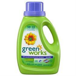 Green Works Natural Laundry Detergent Liquid-Lavender-45oz