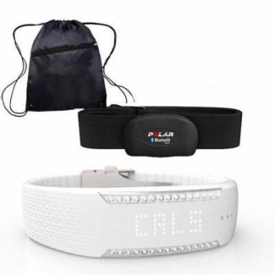 Polar 90058310 - Loop 2 Activity Tracker - Crystal with Black H7 Heart Rate Sens