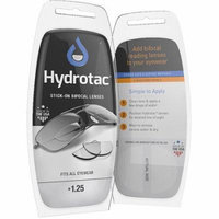 Hydrotac Stick-on Bifocal Lenses, 1.25