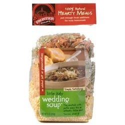 Frontier Soups Hearty Meals Little Italy Wedding Soup Mix 9 oz