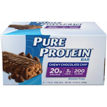 Pure Protein Pure Protein Chewy Chocolate Chip-6 Bars