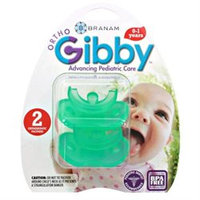 Branam Ortho-Gibby Pacifiers Newborn 0-1 years 2 count 223800