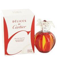 Delices De Cartier by Cartier Eau De Toilette Spray 1.6 oz for Female