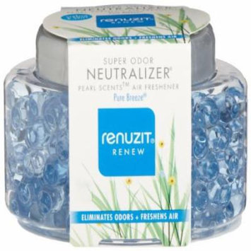 Dial 1723319 Renuzit Super Odor Neutralizer Pearl Scents Pure Breeze Air Freshener, 5.64oz Bottle ( Multi-Colored