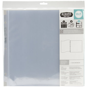 Hiller Industries Ring Flush Bound Page Protector 12