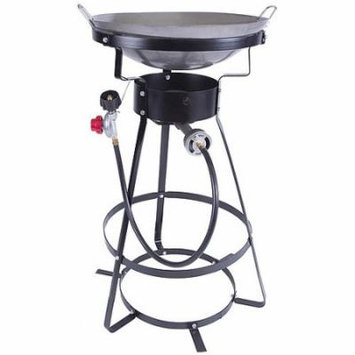 54,000-BTU Outdoor Cooker with Wok