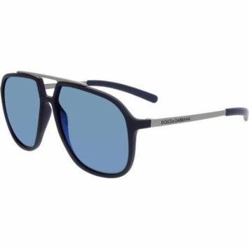Dolce & Gabbana Men's DG6088-265055-59 Blue Aviator Sunglasses