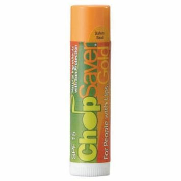 ChopSaver Gold Lip Balm with SPF15 Protection 0.15 oz