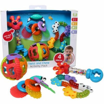 Playgro Twist and Chew Activity Gift Pack, 4pk