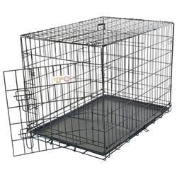 Majestic Pet Products, Inc. 30 Majestic Pet Single Door Folding Dog Crate Cage - Medium