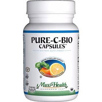 Maxi Health Pure Vitamin C - with Bioflavonoids - Immune & Capillary Support - 90 Capsules - Kosher