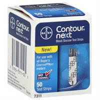 Bayer Contour Next Blood Glucose Test Strips