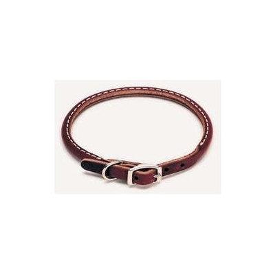 Coastal Pet Products Leather Latigo Round Pet Collar - Size: 1