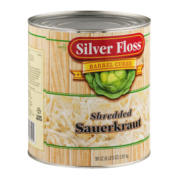 Silver Floss Shredded Sauerkraut