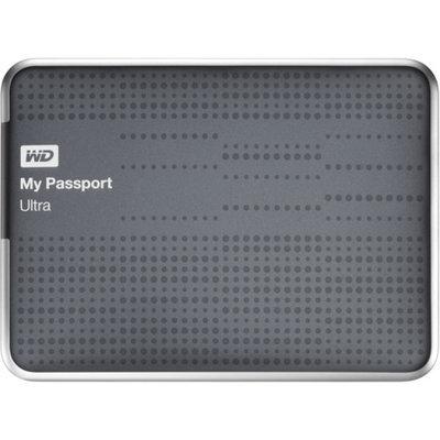 Western Digital WD 1TB My Passport Ultra Hard Drive - Titanium
