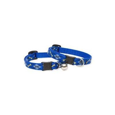 Lupine Inc 41837 1/2 X 8-12 Adjustable Dapper Dog Design Safety Cat Collar