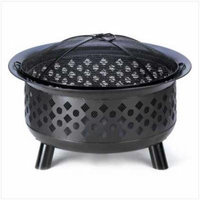 Zingz & Thingz Charcoal & Wood Fire Pit