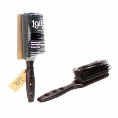1907 by Fromm Medium Stlying Hair Brush With Ionic Nylon Pins, NBB008