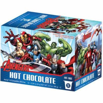 Marvel Avengers Hot Chocolate Single Serve Cups, .28 oz, 12 count