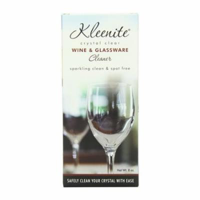 Kleenite Wine And Glassware Cleaner - 8 Oz, Sparkling Clean, Spot Free