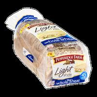 Pepperidge Farm Light Style Bread 100% Whole Wheat