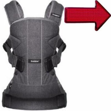 Baby Bjorn 093094USK1 Baby Carrier One - Denim Gray with Safety Reflector Light