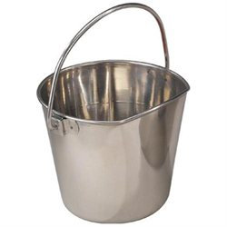 ProSelect Stainless Steel Flat Sided Pail 6QT