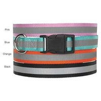 Guardian Gear Reflective Dog Collar Black 10