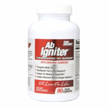 Top Secret Nutrition Ab Igniter Thermogenic Fat Burner